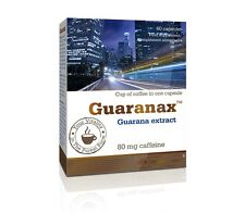 OLIMP Guaranax Active Caffeine from Guarana Energy 60-180 capsules