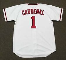 JOSE CARDENAL California Angels 1960's Majestic Cooperstown Home Baseball Jersey