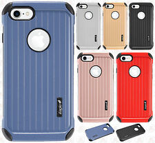 For Apple iPhone 7 & 7 PLUS Rubber IMPACT CO HYBRID Case Skin Phone Cover