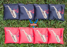 Custom Saxaphone Cornhole Bag Set (all Weather)