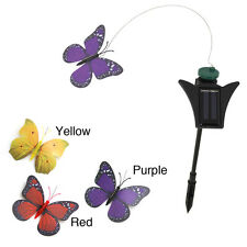 Pack 2 or 4 Solar Flying Flickering Butterfly Hummingbird Dragonfly Garden Plant