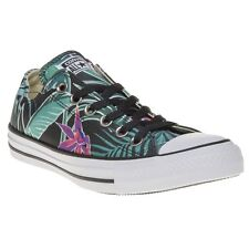 New Womens Converse Multi All Star Ox Canvas Trainers Lace Up