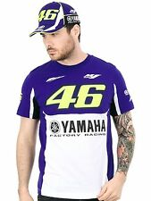 Valentino Rossi Yamaha Royal Blue VR46 Factory Racing T-Shirt