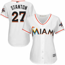 Miami Marlins 2017 Marlins All Star Game Patch Womens Cool Base Jersey Baseball