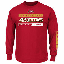 San Francisco 49ers Majestic Primary Receiver VII Long Sleeve T-Shirt - NFL