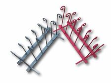 Wrought Iron Welly Boot Stand Rack 4-8 pairs-colour choice