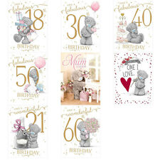 Large Me to You Bear Birthday Cards (Assorted)