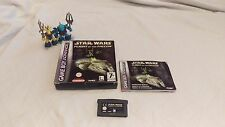 Star Wars Flight of the Falcon Nintendo Game boy Advance GBA Game Boxed GC