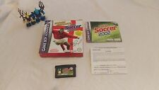 Steven Gerrard's Total Soccer 2002 Game boy Advance GBA Game Boxed Complete VGC