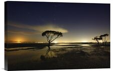 Global Gallery 'Moonrise' by Mel Brackstone Photographic Print on Wrapped Canvas