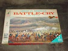 American Heritage - BATTLE CRY game - Milton Bradley Command Decision Series #4