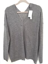 VINCE WOMEN'S LIGHTWEIGHT DOUBLE V-NECK SWEATER, WOOL-CASHMERE: STYLE # V2639760