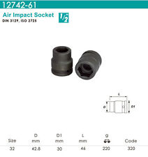 """Whirlpower - 1/2""""DR.x 32mm Air Impact Socket - Automotive Tools NEW"""