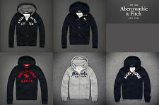 Brand New Mens Abercrombie & Fitch Hoodie in NAVY Grey size S M L XL jacket UK