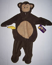 NWT OLD NAVY BABY MONKEY COSTUME 0-6 or 6-12 3 6 12 mo HALLOWEEN