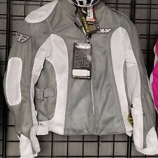 NWT FLY Racing Coolpro 2 Mesh Womens Textile Mesh Street Jacket Grey Small NOS