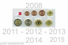 Currency coin set MALTA (1 cents to loose from 2008 uncirculated free selectable