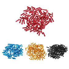 100pcs/set Bike Bicycle Brake Shifter Inner Cable Tips Wire End Cap Crimps