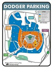 1 DODGER STADIUM PREFERRED PARKING PASS LOT N 4/3/17 VS PADRES (OPENING DAY)