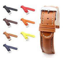 BOB Retro Calf Watch Band for Breitling, 18-24 mm, 7 colors, new!