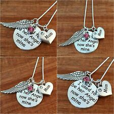 I used to be her angel now she's mine - In Memory of my mum nan nanny Necklace