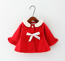 Baby Girls Coat Newborn Toddler Infant Outerwear Cute Coat Clothing Kids Tops