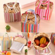 Portable Thermal Insulated Cooler Lunch Bag Picnic Carry Tote Travel Storage Box