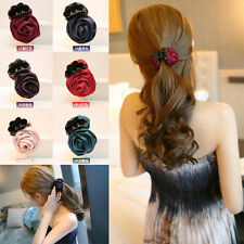 Fashion Women Girl Hair Band  Ponytail Holder Hairband Comb Hairpin Clip Jewelry