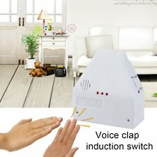 110V/220V Electronic Gadget Hand Light Switches Clapper Sound Activated #V