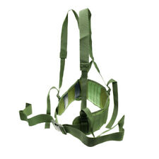 Molle Tactical Military Police Waist Padded Belt with H-shaped Suspender