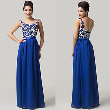 CUSTOM SIZE Ladies Bridesmaids Ball Gown Evening Cocktail Prom Party Dress 6-20+