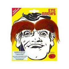 STEPTOES EYEBROWS WHITE BLACK GREY BROWN MEN'S Fancy Dress COSTUME PARTY SHOW