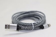 Silver 3M 10 ft extra long USB data Cable Charging cord For Apple iphone 6 6S