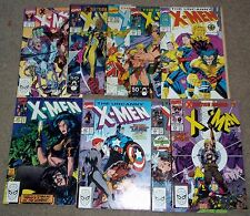 Uncanny X-Men #267 268-275 Marvel Comics book run lot Gambit Jim Lee X-Tinction