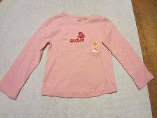 NWT GYMBOREE GIRLS LONG SLEEVE FALL TOPS-SZ 3T 4T-BUTTERFLY GIRL,WOODLAND