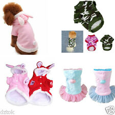 Winter Cat Dog Clothes Puppy Hoodies Lovely Pet Clothing Small Dog Apparel hot