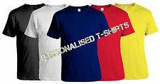 Printed T-Shirt PERSONALISED T SHIRT + YOUR OWN TEXT OR SIMPLE GRAPHIC