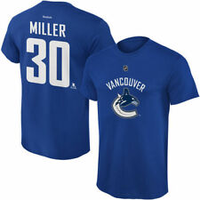 Ryan Miller Vancouver Canucks Reebok Youth Name and Number Player T-Shirt - NHL