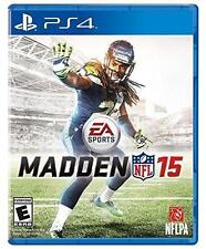 NIP Sealed Madden NFL 15 Sony PlayStation 4 PS4 Football EA Sports Video Game