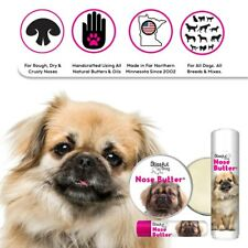TIBETAN SPANIEL NOSE BUTTER for Dry, Crusty Dog Noses in Tins & Tubes
