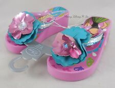 Disney Store Frozen Elsa & Anna Platform Flip Flops Beach Shoes Sandals 9/10-11/