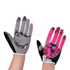 Women Cycling Full Finger Gloves Outdoor Protect Bike Gloves Washable Breathable
