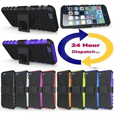 Hybrid 2in1 Case Rugged Grip Kickstand Heavy Duty Cover For Apple iPhone Models