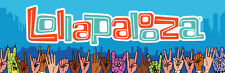 LOLLAPALOOZA - 8/3/17 thru 8/6/17 - 2 @ 4-DAY GA TIX with COLLECTIBLE CREDENTIAL