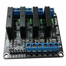 NEW DC 5V 1/2/4 Channel Solid-State Relay Board Module Solid State Relay Module