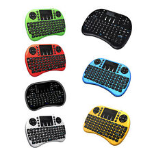 Keyboard Mini Wireless Touchpad Backlight Rii i8+2.4G Gaming Mouse for PC/ X360