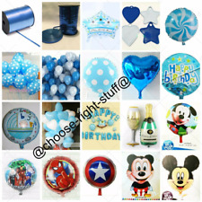 BALLOONS BOY PARTY Polka Dot Foil Balloons For Birthday Party New Born Baby Boy