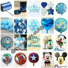 Spiderman Micky Mouse Ribbon Foil Balloons weight heart ballon Birthday Party