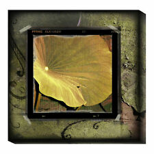 Global Gallery Yellow Lotus by Suzanne Silk Graphic Art Print on Canvas
