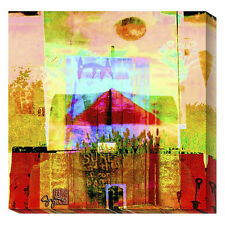 Global Gallery Santa Fe Church by Suzanne Silk Graphic Art Print on Canvas